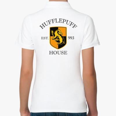 Женская рубашка поло Hufflepuff