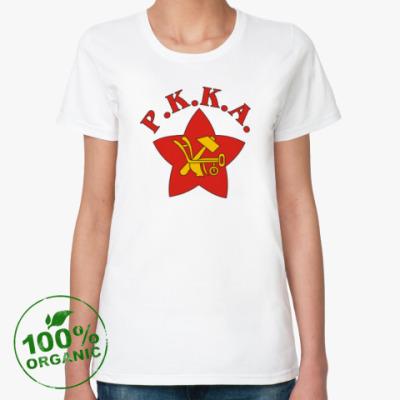 Женская футболка из органик-хлопка РККА