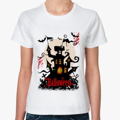 Классическая футболка Хэллоуин