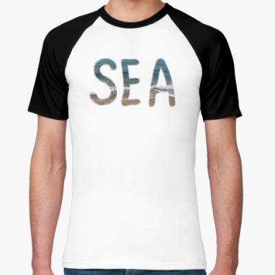 Футболка реглан SEA