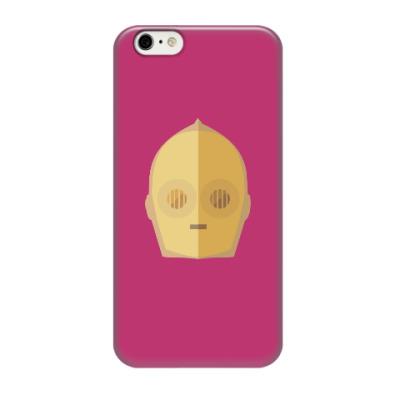 Чехол для iPhone 6/6s Star Wars: C-3PO
