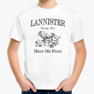 Детская футболка Lannister