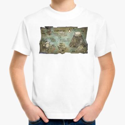 Детская футболка Wilbur vs The Volcano