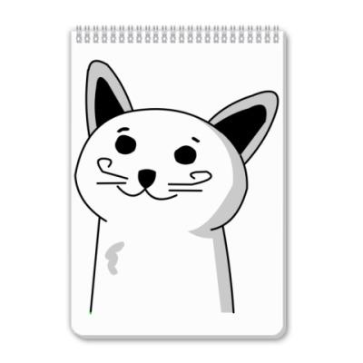 Блокнот кот который знает