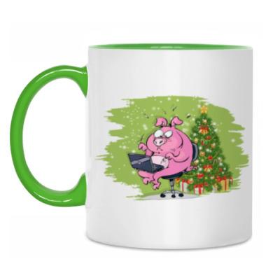 Кружка Год свиньи