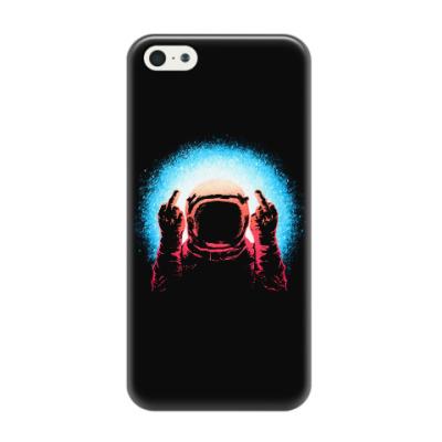 Чехол для iPhone 5/5s Грубый Космонавт