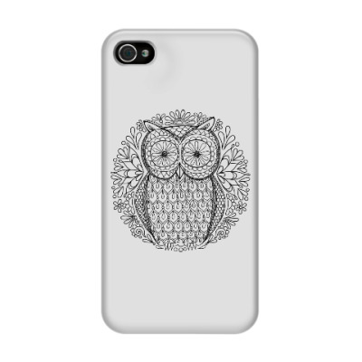 Чехол для iPhone 4/4s Сова