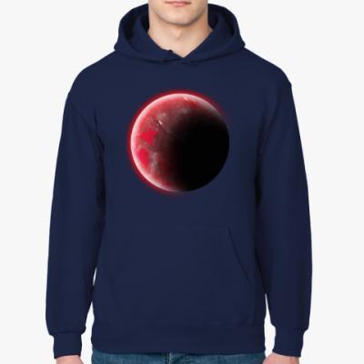 Толстовка худи Красная экзопланета