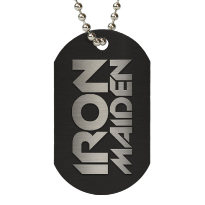 Жетон dog-tag Iron Maiden
