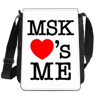 Сумка-планшет MSK Loves Me