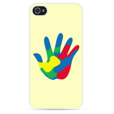 Чехол для iPhone Отпечаток Руки