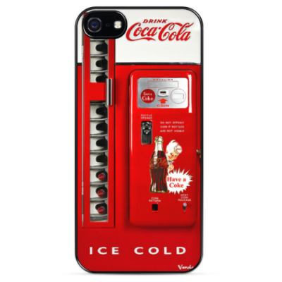 Чехол для iPhone American Coca Cola Machine
