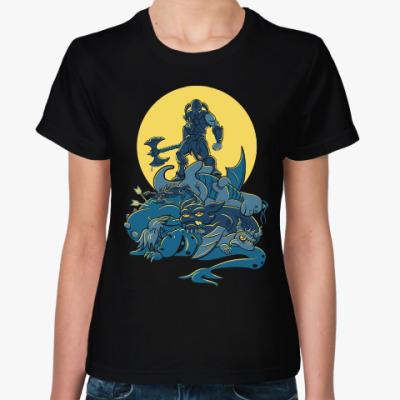 Женская футболка Skyrim