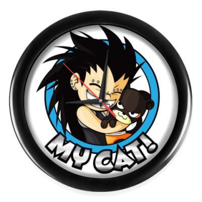 Настенные часы Fairy Tail Gazille&Pantherlily