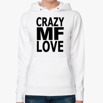 Женская толстовка худи Crazy Love, MF