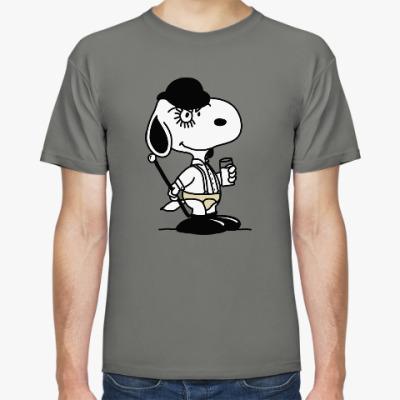 Футболка Snoopy Clockwork Orange