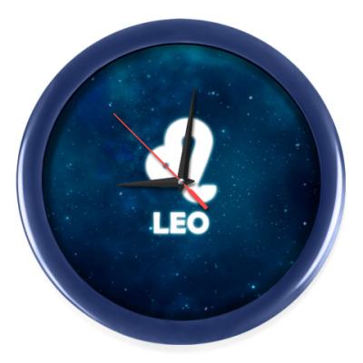 Настенные часы Знак зодиака. Лев