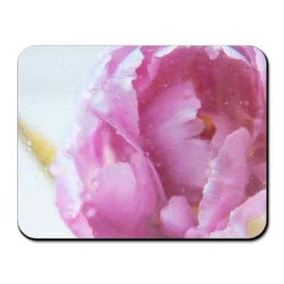 Коврик для мыши Акварельный цветок