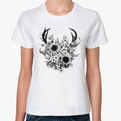 Классическая футболка Skeleton4