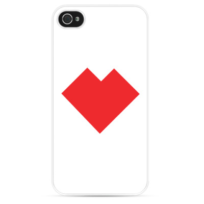 Чехол для iPhone Сердце танграм