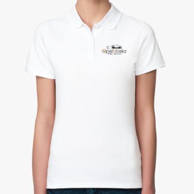 Женская рубашка поло Opel Mokka