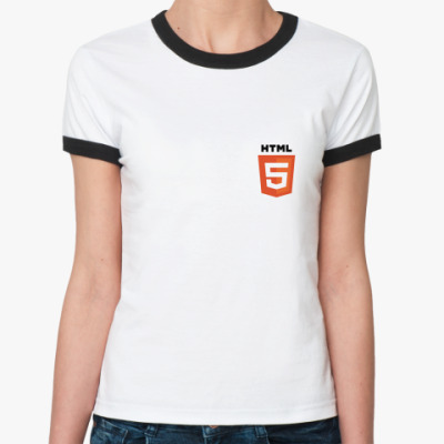 Женская футболка Ringer-T HTML 5