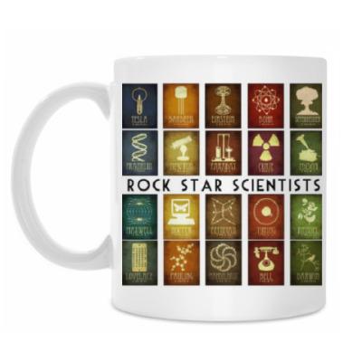 Кружка Rock-star scientists