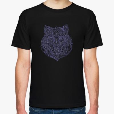Футболка Мистический волк