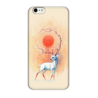 Чехол для iPhone 6/6s Дух весны белый олень