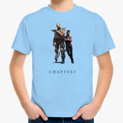 Детская футболка герои из игр