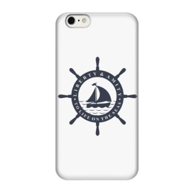 Чехол для iPhone 6/6s Море, штурвал. Liberty and mit