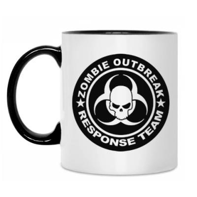 Кружка Zombie outbreak response team