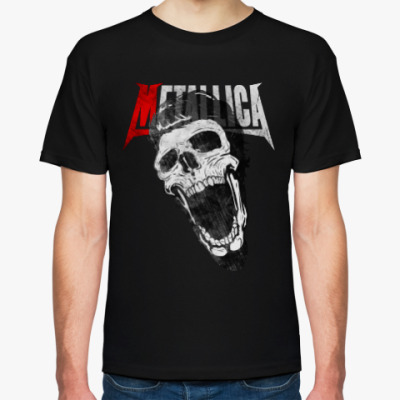 Футболка Metallica Skull