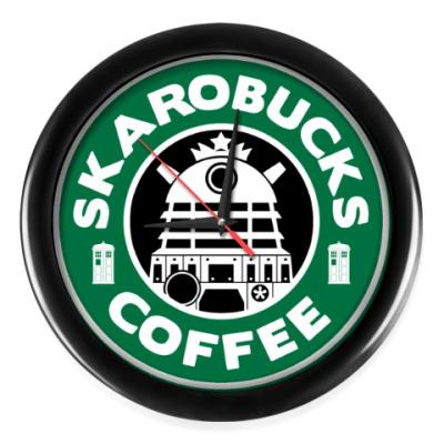 Настенные часы Skaro Coffee DOCTOR WHO Dalek
