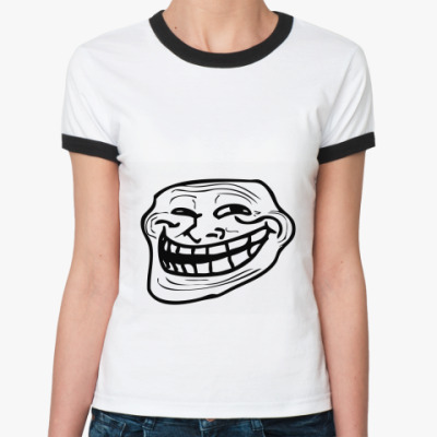 Женская футболка Ringer-T Coolface