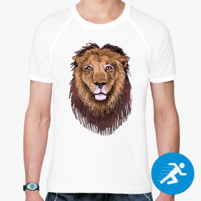 Спортивная футболка Лев