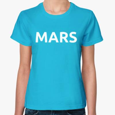 Женская футболка Mars