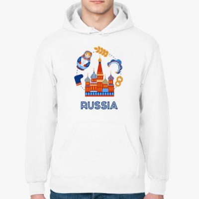 Толстовка худи Russia, Россия