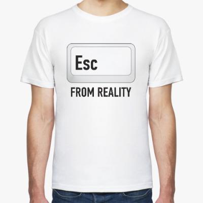 Футболка Esc from reality