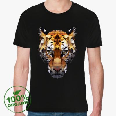 Футболка из органик-хлопка Тигр / Tiger