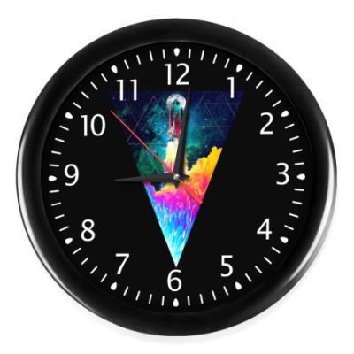 Часы Запуск космического корабля