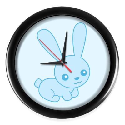 Настенные часы Зайка