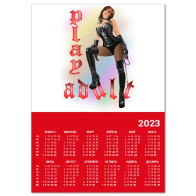Календарь Play adult