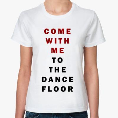 Классическая футболка   'Come'