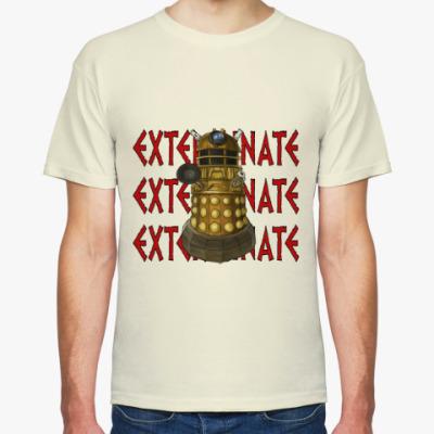 Футболка Dalek EXTERMINATE Doctor Who