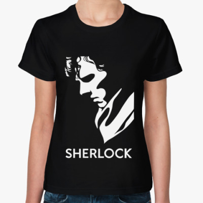 Женская футболка SHERLOCK