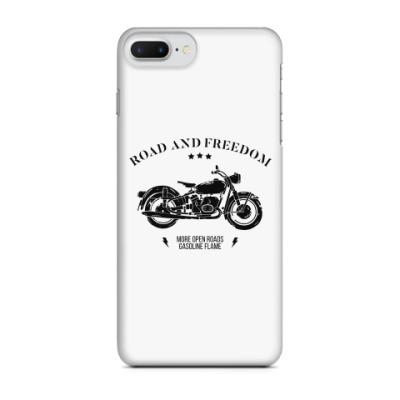 Чехол для iPhone 7 Plus Король дорог (мотоцикл)