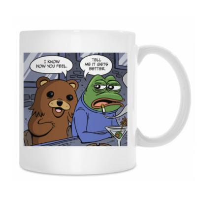 Pepe Frog & Pedobear
