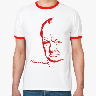Футболка Ringer-T Winston Churchill