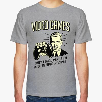 Футболка Video Games